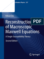 Reconstruction of Macroscopic Maxwell Equations A Single Susceptibility Theory 2nd ed.pdf