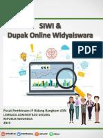 Paparan Dupak Widyaiswara Online