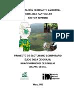 PROYECTO ECOTURISTICO DE L EJIDO BOCA DE CHAJUL.pdf