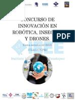 CONCURSO DE INNOVACIÓN EN ROBÓTICA, INSECTOS Y DRONES.