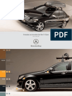 Mercedes C-Class W204 Accessories