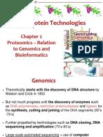 L2 Proteomics, Genomics and Bioinformatics