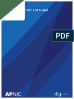 APNIC Activity Plan 2017-1