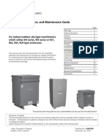 Installation, Operation, and Maintenance Guide