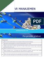 1. DASAR-MANAJEMEN (PENGANTAR 1) (1)