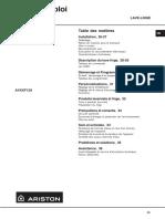 Ariston Avxxf129 (Avxxf149)