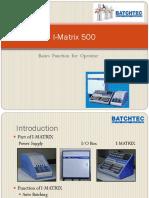 I-Matrix Basic for Operator.pptx