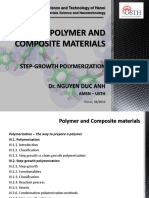 Polymer and Composite Materials- Step Growth Polymerization