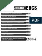 EBCS & ESCP