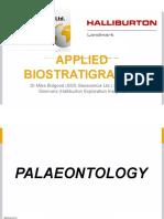 Part-01 biostratigraphy