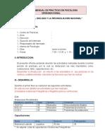 Modelo de Informe Mensual