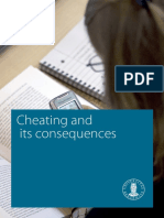 Cheating and Its Consequences