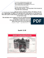 Zenith 12 Xp