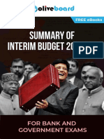 eBook Union Budget Summary