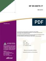 NF en 60079-17 Inspection ATEX