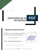 03 GA Equações de Planos No Espaço Lugares Geometricos