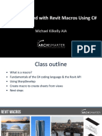 ArchSmarter - Presentation - Getting Started with Revit Macros using C#-2.pdf