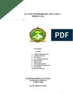 MAKALAH  SAFE MOTHERHOOD  KELUARGA BERENCANA.docx
