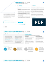 Achilles Practices Certification From Ge Digital Datasheet