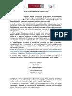 "Bases. XXIV Premio de Novela ""Vargas Llosa"". Fundación Caja Mediterráneo"