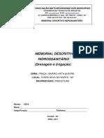 MEMORIAL DESCRITIVO HIDROSSANITÁRIO