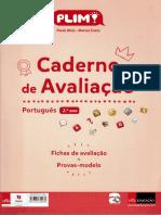 Caderno de Avaliação Português - 2º Ano PLIM