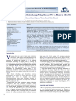Comparison of Hemorrhoid Sclerotherapy Using Glucose 50% vs. Phenol in Olive Oil