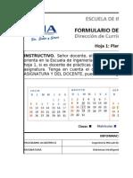FormularioPlaneacionClaseAClase 2010-II Sistemas Inteligentes