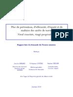Rapport de Mm. Berard Oustric Et Seiller - Arrêts de Travail - Prévoyance