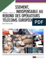Etude Télécom mai 2015