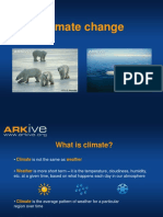 11-14yrs - Climate Change - Classroom Presentation