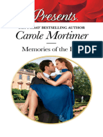 Memories of the Past - Carole Mortimer