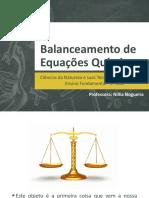 Balanceamento de Equações Químicas PDF