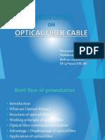 Ppt Seminar Optical Fibre Final