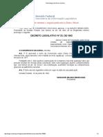 Decreto Legislativo Nº 33, De 1992