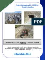 Caratula Munitoreo Arqueologico Abril
