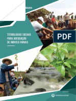 Cartilha de Tecnologias Sociais para adequação de imóveis rurais - Projeto Plantando Águas