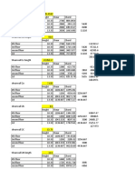 Shearwall Overturning Calculation Template