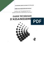 guide technique d'assainissement
