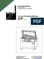 07P Operating Manual Vc999