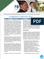 Gobierno Corporativo - Empresarios Bolivia Boletin_Noviembre2012