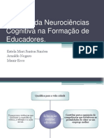 Saberes da Neurociências Cognitiva na Formação de Educadores.pptx