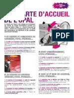 Charte Accueil Opal