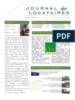 Journal Locataire n2 OPAC 28
