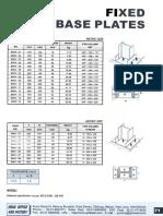 PROFIL_Fixed Base Plate