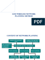 GSM Wireless Network Planning Method Tpm