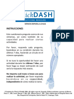 QuickDASH Spanish Chile