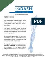 QuickDASH Spanish Chile