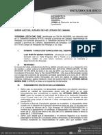 Demanda Ejecucion de Acta de Conciliacion