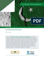 The Pakistan Policy Symposium